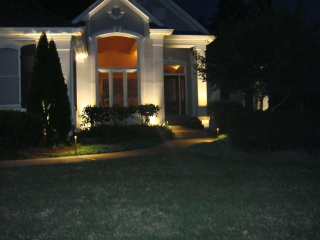Landscape Lighting Estimates : Kiser outdoor lighting free design and estimate family owned services